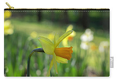 Daffodil Side Profile Carry-all Pouch