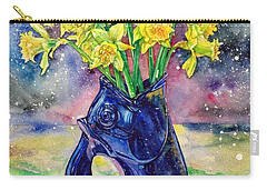 Daffodil Spray Carry-all Pouch