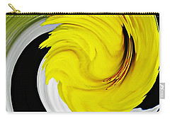Daffodil Twist Carry-all Pouch by Sarah Loft