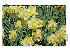Carry-all Pouch featuring the photograph Daffodilia by Lynda Lehmann