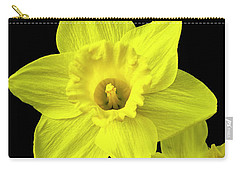 Carry-all Pouch featuring the photograph Daffodils by Christina Rollo