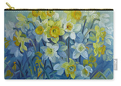 Daffodils Dance Carry-all Pouch