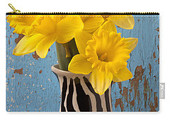 Yellow Trumpet Carry-All Pouches