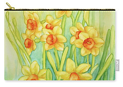 Daffodils In Yellow Carry-all Pouch