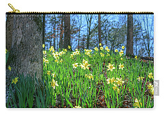 Daffodils On Hillside 2 Carry-all Pouch