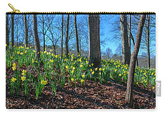 Daffodils On Hillside Carry-all Pouch