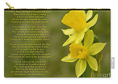 Daffodils Poem By William Wordsworth Carry-all Pouch