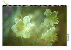 Daffodils1 Carry-all Pouch by Loni Collins