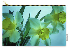 Daffodils2 Carry-all Pouch by Loni Collins