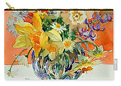 Daffs And Daisies Carry-all Pouch