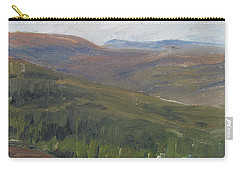 Dagrar Over Salenfjallen - Shifting Daylight Over Distant Horizon 1 Of 10_0034 50x50 Cm Carry-all Pouch