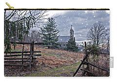 Dahlgren Chapel Winter Scene Carry-all Pouch