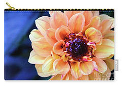 Dahlia Beauty Carry-all Pouch by Debby Pueschel