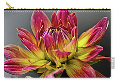 Dahlia Flame Carry-all Pouch