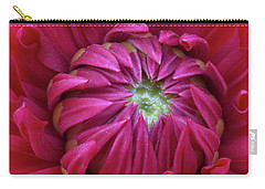 Dahlia Heart Carry-all Pouch