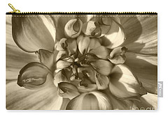 Dahlia Named Who Dun It Carry-all Pouch by J McCombie