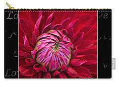 Dahlia Of Love Carry-all Pouch