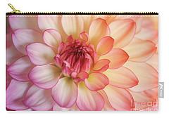 Dahlia Rainbow Beauty Carry-all Pouch by Rachel Cohen
