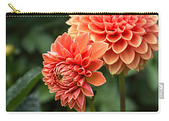 Dahlia Up Close Carry-all Pouch