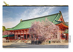 Daigukuden Main Hall Of Heian Jingu Shrine Carry-all Pouch