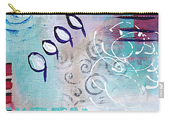 Daily Abstract Two Carry-all Pouch by Suzzanna Frank