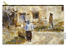 Daily Walk Carry-all Pouch by Shirley Stalter