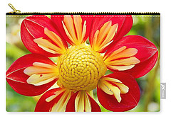 Dainty Dahlia Carry-all Pouch