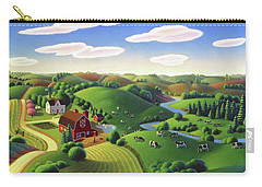 Dairy Farm  Carry-all Pouch by Robin Moline