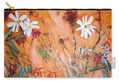 Daisies Along The Fence Carry-all Pouch
