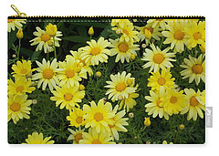 Daisies Carry-all Pouch by Catherine Gagne