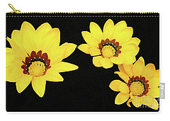 Carry-all Pouch featuring the photograph Daisies Iv by Cassandra Buckley