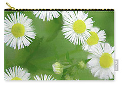 Daisies - Wild Flowers  Carry-all Pouch