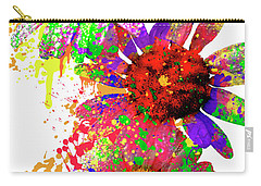 Daisy Abstract Carry-all Pouch
