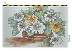 Daisy Craze Carry-all Pouch