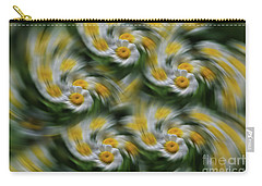 Daisy Fever Carry-all Pouch by Rachel Cohen