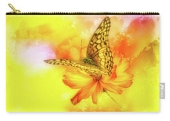 Daisy For A Butterfly Carry-all Pouch