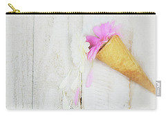 Daisy Ice Cream Cone Carry-all Pouch