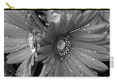 Daisy In The Rain Carry-all Pouch by James C Thomas