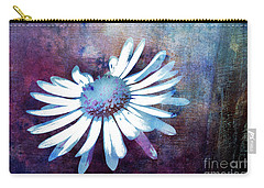 Carry-all Pouch featuring the mixed media Daisy by Jutta Maria Pusl