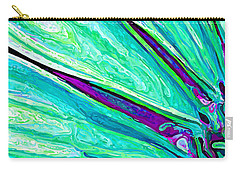 Daisy Petal Abstract 2 Carry-all Pouch