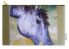 Daisy The Old Mare     52 Carry-all Pouch