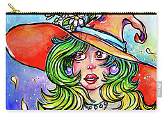 Daisy Witch Carry-all Pouch