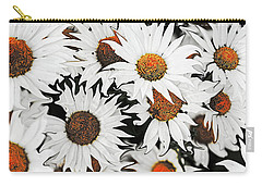 Daisy With A Twist Carry-all Pouch