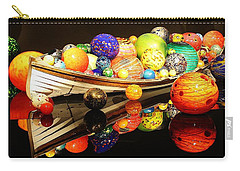Glass Sculpture Boat Carry-all Pouch