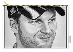 Dale Earnhardt Jr In 2009 Carry-all Pouch by J McCombie