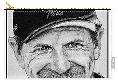 Dale Earnhardt Sr In 2001 Carry-all Pouch by J McCombie