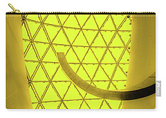 Dali Museum Glass Roof In Yellow Carry-all Pouch