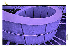 Dali Museum Staircase In Purple Carry-all Pouch