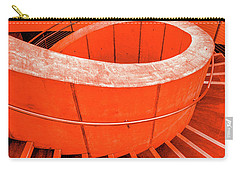Dali Museum Staircase In Red Carry-all Pouch
