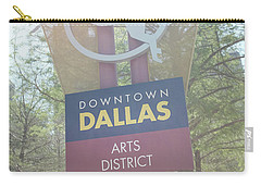 Dallas Arts District Carry-all Pouch